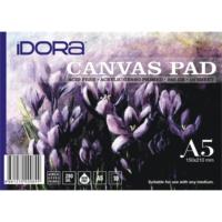 Idora Canvas Pad 10 Yaprak A5