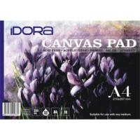 Idora Canvas Pad 10 Yaprak A4