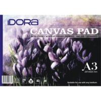 Idora Canvas Pad 10 Yaprak A3