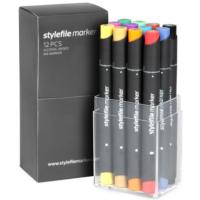 Stylefile Marker 12Pcs Set Main A