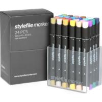 Stylefile Marker 24Pcs Set Main B