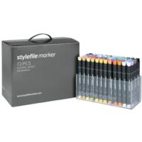 Stylefile Marker 72Pcs Set Main A