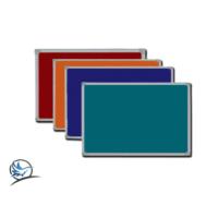 Martı Mantar Pano Renkli kumaş Kaplı Metal Çerçeve Duvara Monte + 2 Pk Mantar Pano Çivisi