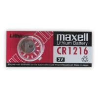 Lityum Pil 3V Cr 1216 Maxell 2 Adet