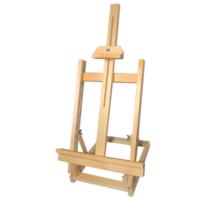 Çanakcı Ahşap Masaüstü Şövale 70 cm Ahşap Resim Ressam Sehpası Ayarlanabilir Şövale