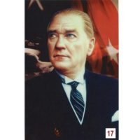 Us Bayrak Atatürk Posteri 17 no
