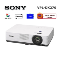Sony VPL-DX270 3500 Ansilümen 1024x768 4000:1 HDMI LCD Projeksiyon Cihazı