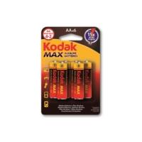 Kodak Max Alkalin Kalem Pil Aa 6 Lı
