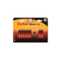 Kodak Max Adet Alkalin İnce Pil Aaa(6+2)