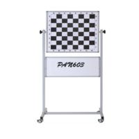 Garanti 70X110 Mobil Ayaklı Manyetik Satranç Eğitim ( Panosu ) Tahtası