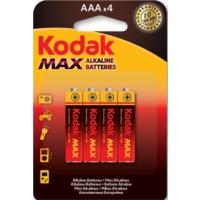Kodak Max Alkalin ince Pil 4 Adet