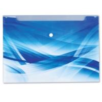 Comix A4 Çıtçıtlı Zarf Bloom A7263