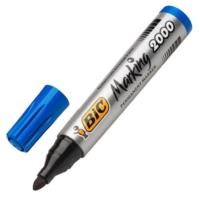 Bic 2000 Yuvarlak Uç Markör Kalem Renk - Mavi