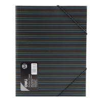 Deli A4 Lastikli Dosya W38983 Renk - Siyah