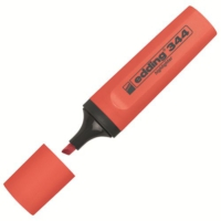 Edding 344 Fosforlu Kalem Renk - Kırmızı