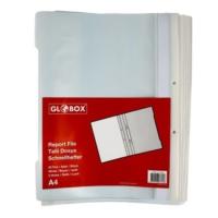 Globox Telli Dosya 25'li Renk - Beyaz