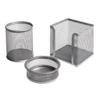 Globox 6154 Metal Perfore 3'lü Set Gümüş