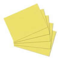 Herlitz A6 100'lü Düz Sarı Kartotek