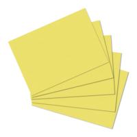 Herlitz A5 100'lü Düz Sarı Kartotek