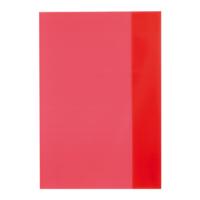 Herlitz A5 Transparan Kırmızı Defter Kabı 033