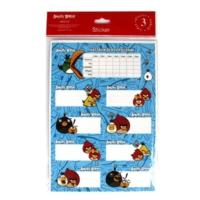 Keskin Color Angry Birds Ders Programı 3'lü Etiket
