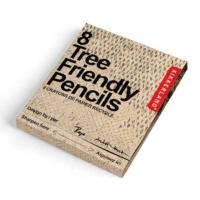 Kikkerland Tree Frıendly Pencils - Ağaç Dostu Geri Dönüşümlü Kurşun Kalem Seti