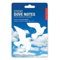 Kikkerland Dove Sticky Notes - Güvercin Not Kağıtları