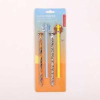 Kikkerland Safarı Pencils – Safari Kalemler – 4Lü Set