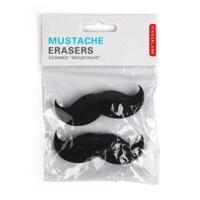 Kikkerland Mustache Eraser Set Of 2 - Bıyık Silgi Seti 2Li