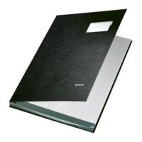 Leitz Plastik Kapaklı İmza Dosyası 20 Sayfa (L5700) Renk - Siyah