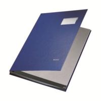 Leitz Plastik Kapaklı İmza Dosyası 10 Sayfa (L5701) Renk - Mavi