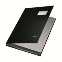 Leitz Plastik Kapaklı İmza Dosyası 10 Sayfa (L5701) Renk - Siyah