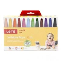 Lets 12 Renk Jel Mum Boya 6612