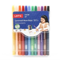 Lets 12Li Rolling Crayon Çevirmeli Mum Boya Fdc-012