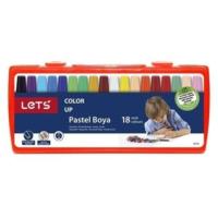 Lets 18 Renk Pastel Boya Çantalı Lk-18
