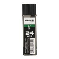 Magnum 2B Kurşun Kalem Ucu 0,7 Mm Renk - Şeffaf Siyah