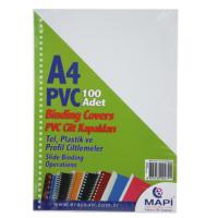 Mapi Pvc A4 160 Micron Cilt Kapağı 100'lü Renk - Beyaz