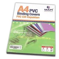 Mapi Pvc A4 160 Micron Cilt Kapağı 100'lü Renk - Buzlu Şeffaf