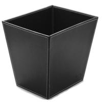 Mas 3852 Çöp Kovası Suni Deri Renk - Siyah