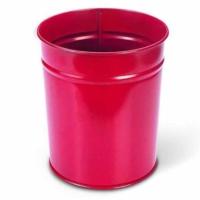 Mas 850 Çöp Kovası Metal 10 Lt Renk - Kırmızı