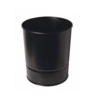 Mas 850 Çöp Kovası Metal 10 Lt Renk - Siyah