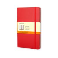 Moleskine Classic Not Defteri Sert Kapak Çizgili 192 Sayfa 9 x 14 Cm Kırmızı