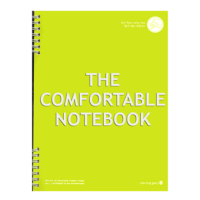 Morning Glory 1643 A4 Spiralli The Comfortable Notebook Renk - Yeşil