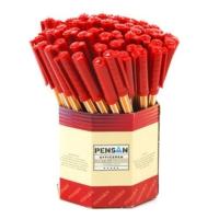 Pensan 1010 Ofispen Tükenmez Kalem 60'lı Renk - Kırmızı