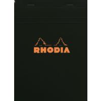 Rhodia Basics 148 x 210 Mm Zımbalı Siyah Çizgisiz Defter Rs 162008