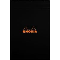 Rhodia Basics 210 x 297 Mm Zımbalı Siyah Çizgisiz Defter Rs 182008