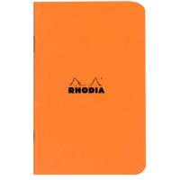 Rhodia Classic Tel Dikişli 75 x 120 Mm Turuncu Kareli Defter Rd 119158
