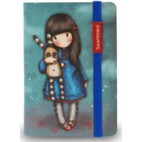 Santoro Gorjuss Mini Boy Lastikli Not Defteri 81120G9