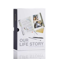 Suck Uk Our Life Story - Bizim Hikayemiz - Çiftler İçin Hayat Boyu Günlük Siyah