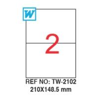 Tanex 210 x 148,5 Mm Laser Etiket Tw-2102